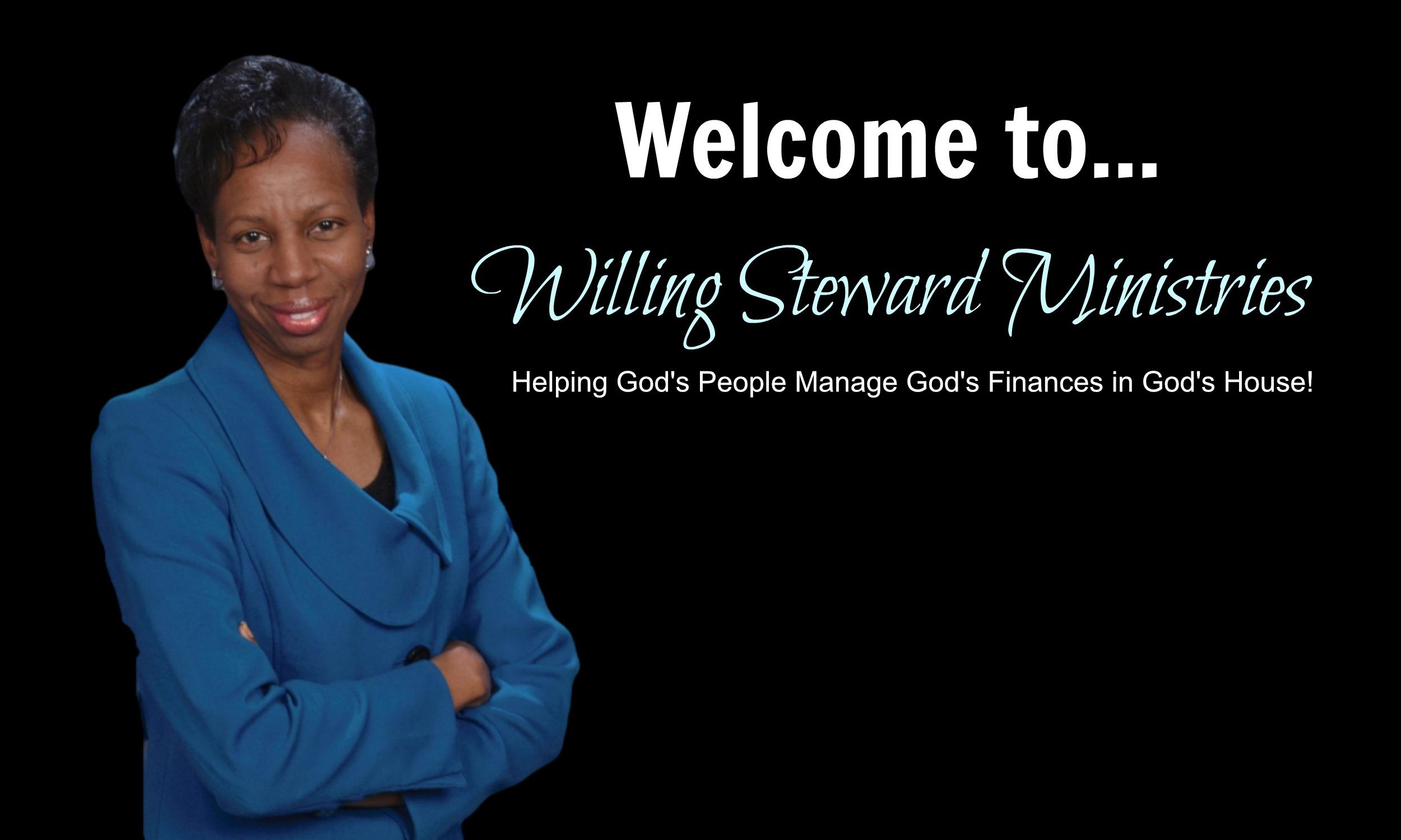 Willing Steward Ministries hero banner